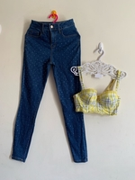 Used High waist jeans and top in Dubai, UAE