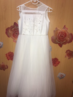 Used Kids white gown dress  in Dubai, UAE