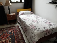 Used Child bed with mattress and bedside in Dubai, UAE