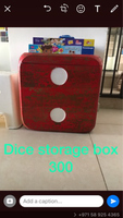 Used Dice storage box  in Dubai, UAE