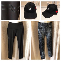 Used 2 legging and cap in Dubai, UAE