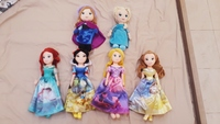 Used Disney themed princess plush dolls each in Dubai, UAE