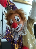 Used Original clown puppet (Italian) in Dubai, UAE