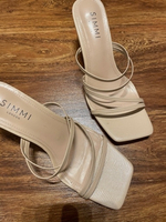 Used New nude sandal in Dubai, UAE