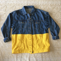 Used NOISY MAY colourblock denim jacket in Dubai, UAE