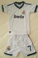 Real Madrid Boys Uniform.