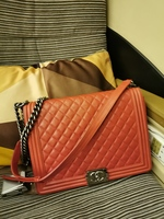 Used Authentic Chanel Le Boy Rouge Pivione in Dubai, UAE