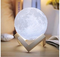 Used Moon light lamp 1x new in Dubai, UAE