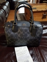 Used Coach Mini Bennet Satchel Brand New  in Dubai, UAE