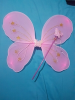 Used Kids Fairy Wings and Wand in Dubai, UAE