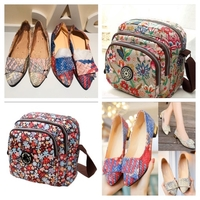Bundle of 2 bags and 2'pair of shoes 40
