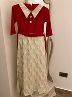Used Red and white dress for girls in Dubai, UAE