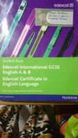 Edexcel IGCSE English Anthology textbook