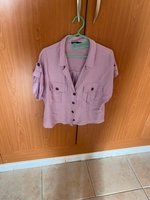 Used Bersheka, purple shirt in Dubai, UAE