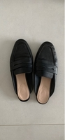 Used Zara leather mules in Dubai, UAE