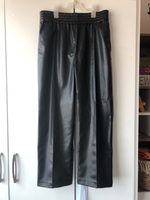 Used Faux Leather Pants  in Dubai, UAE