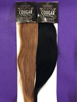 Used Clip in Remy Hair Black & Brown  in Dubai, UAE