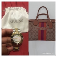 Used Coach Bag and Guess Bundle Authentic in Dubai, UAE