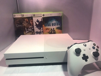 Used Xbox One + Game Collection  in Dubai, UAE