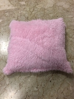 Used Pink fluffy pillow  in Dubai, UAE