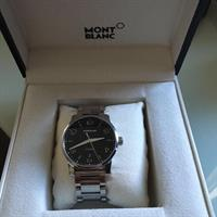 Used Original Mont Blanc Watch# Hardly Used# As Good As New# Original Price AED 13000# Great Deal in Dubai, UAE