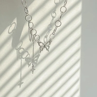 Used Alloy butterfly necklace in Dubai, UAE