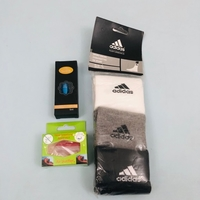3 pairs of comfortable Adidas sock & oth