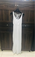 Used Summer long cotton white dress in Dubai, UAE