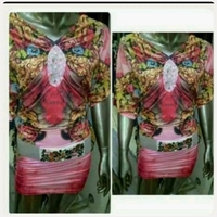 Used Amazing Printed Short Dress for her in Dubai, UAE
