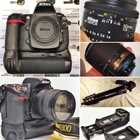 Used Nikon D300 DSLR with Nikon 50mm lens in Dubai, UAE