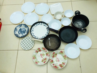 Used POTS,PANS,CUPS,PLATES & grocery items in Dubai, UAE
