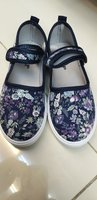 Used Cute flower desing canvas girls shoes in Dubai, UAE