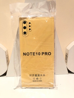 Used Silicon note 10 pro transparent case in Dubai, UAE