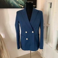 Havana Suit Jacket Blue (48) NEW