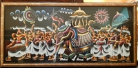 Used Handpainted Srilankan art work in Dubai, UAE