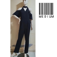 Used Black jumpsuit///medium size in Dubai, UAE