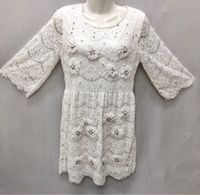 Used Lace Dress with Detailed Handmade works in Dubai, UAE