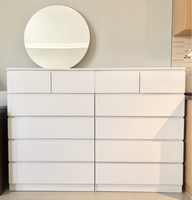 Used Chests of drawers with mirror  in Dubai, UAE