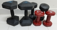 Used Domyos dumbbell in Dubai, UAE