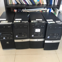 Used 4 x HP Compaq desktop CPUs core2duo  in Dubai, UAE