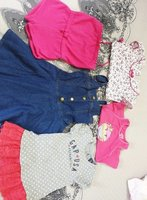 Used Pre-love mix kids cloths/1-2years old in Dubai, UAE