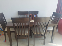 Used Dining Table And Six Chairs In Great Condition For Sale  in Dubai, UAE