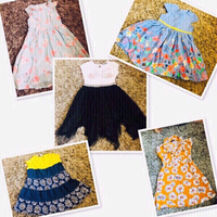 Used Kids Dress 5 pcs 3/4 yr old ♥️ in Dubai, UAE