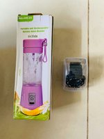 Portable juicer with sports watch