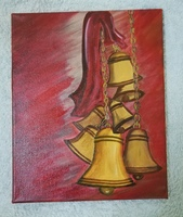 Used Acrylic canvas painting of 11x9 inches in Dubai, UAE
