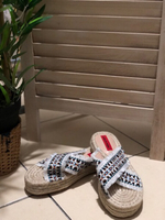 Used Espadrille Sandals. Brand New in Dubai, UAE