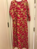 Used Red and Gold Dress in Dubai, UAE