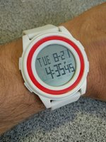 Used Ultra Thin German made SportsWatch▪White in Dubai, UAE