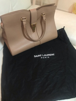 Used YSL beige bag in Dubai, UAE