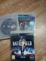 Used Ps3 Ninja Gaiden 1&2+ Battlefield3 in Dubai, UAE